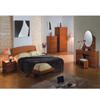 Dark Cherry Finish Bedroom Set P173BK(PK)