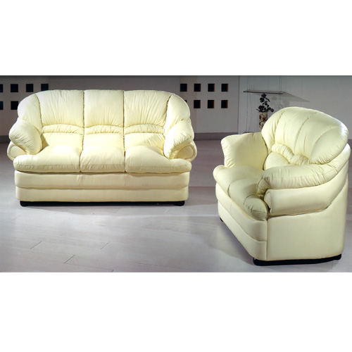 Leather Sofa Set S258-A (PK)