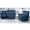 Leather Sofa Set In Blue S328-BU (PK)