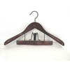 Taurus Suit Hanger with Trouser Clamp Mahogany TRF8839(PMFS)