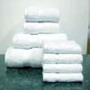 8PC Set White Egyptian Cotton Towels Set ed8pc (RPT)