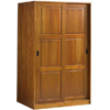Solid Wood Sliding Door Wardrobe 562_(PL)