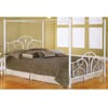 White Contour Canopy Bed B9123 (FB)