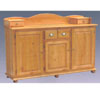 Classic Buffet with Removable Top Part BF-58-OAK (AI)