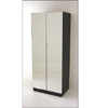 Wardrobe With 2 Doors Mirrored Front W104M(WPFS150)