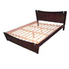 Candida Platform Bed In Tobacco Finish (AI)