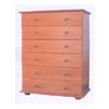 Solid Wood 6-Drawer Chest CH-6D(AI)