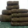 8PC. Set Chocolate Egyptian Cotton Towels ed8pc (RPT)