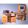 Computer Desk With Printer File Organizer Desk#1-PF-1 (VF)
