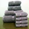 8PC. Set Dry Heather Egyptian Cotton Towels ed8pc (RPT)