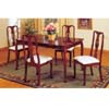 5 Pcs Cherry Finish Queen Ann Dinette Set 6302(ABCui)