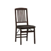 Triena Lad Back Set (2) Folding Chair 01827(LNFS)
