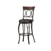 Circles Back Counter Stool 24 In. 02730MTL(LN)(Free Shipping