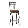 Swag Counter Stool 24 In. 02760MTL(LNFS)