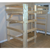 The Manhattan All Sizes Solid Wood Loft Bed
