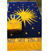 Egyptian Cotton Beach Towel Navy-Sun (RPTFS)