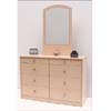 Double Dresser With Mirror Q-48/G-101 (VF)