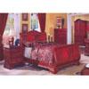 Cherry Finish Bedroom Set R57_ (DS)