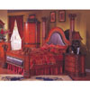 Bedroom Set In Cherry Finish R78_ (DS)