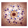Blue Decor Crystal Flower Flushment SC-153/6 (HT)