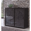 Sliding Door Shoe Cabinet With Mirrored Doors SC-9224(ARH)