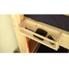 Solid Wood Bunk Of Loft Towel Shelf (USM)