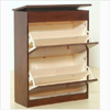 Solid Birch Wood Shoe Cabinet TZ27-B(GH)