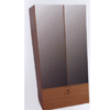 Wardrobe With Two Mirror Doors/ Two Drawer W108M2(WPFS100)