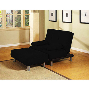Manhattan Convertible Chair and Ottoman 007106951 (WFS247)