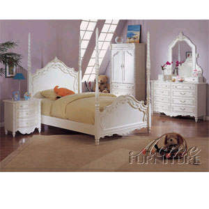 Pearl Post Bedroom Set 0995/1000 (A)