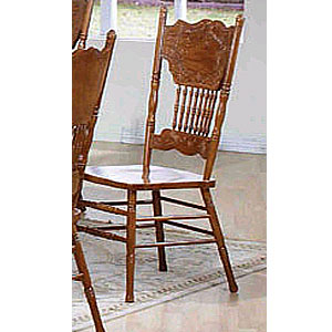 Oak Side Chair 1004-01 (WD)