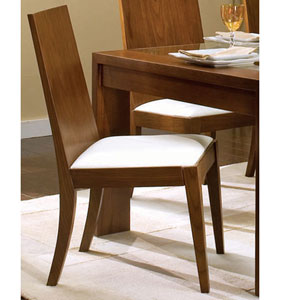 Walnut Finish Dining Chair 101212 (CO)