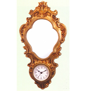 Mirror With Clock 1016 (PJ)