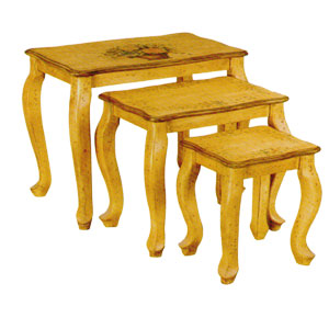 Hand Painted Nesting Tables 1035 (ITM)