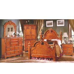 Elizabeth Bedroom Set 1101 (WD)
