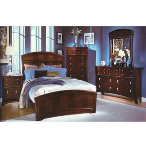 Manhattan Bedroom Set 1151 (WD)