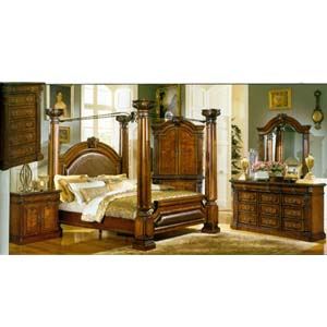 Princeton Manor Bedroom Set 1189 (WD)