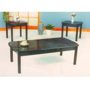 3 Pc Marble Finish Occasional Set 1203 (ML)