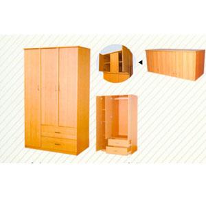 3 Door and 2 Drawers  120-117 (LF)
