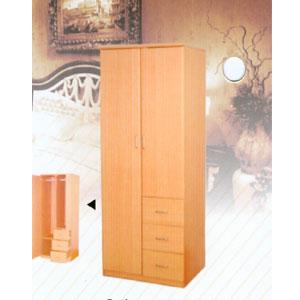 2 Door and 3 Drawers 120_121 (LF)