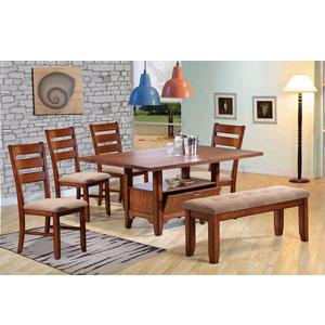 Oak Valley Dining Set 1228-T/SC (WD)