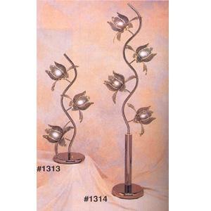 Black Chrome Floor Lamp 1314(CO)