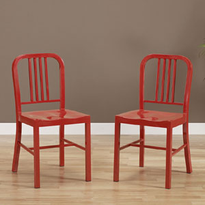 Metal Side Chairs (Set of 2) 5954034(OFS)
