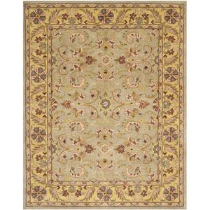 Handmade Heritage Kerman Grey/ Gold Wool Rug 14811744(OFS)