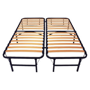 Wooden Slat Simple Base Bed Frame 15952107(TFS)