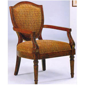 Hand Carved Accent Chair 1657 (WD)