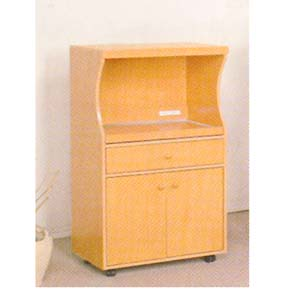Microwave Cart w/Electrical Socket 1708 (ABC)