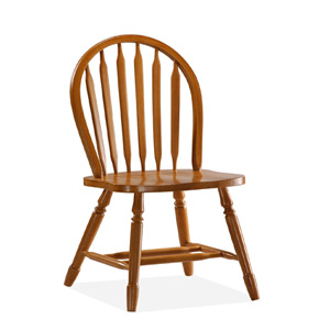 Solid Wood Arrowback Chair with Turn Legs 1C04-140(ICFS)