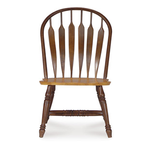 Solid Wood Steam Bent Arrow Back Chair 1C58-1206(ICFS)
