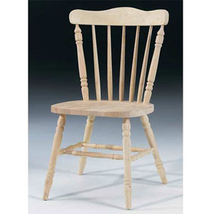 Unfinished Country Cottage Chair 1C-585 (IC)